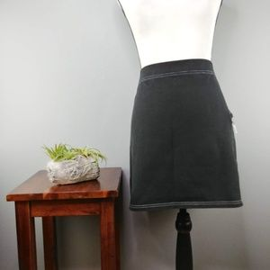 LOFT | athletic skirt with zipper pocket